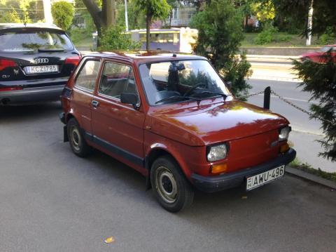 Első autóm Polski Fiat 126p 650E
